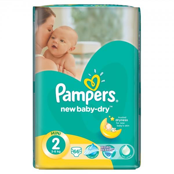 PAMPERS Подгузники New Baby-Dry Mini (3-6 кг) Экономичная Упаковка минус ee554d7b01b