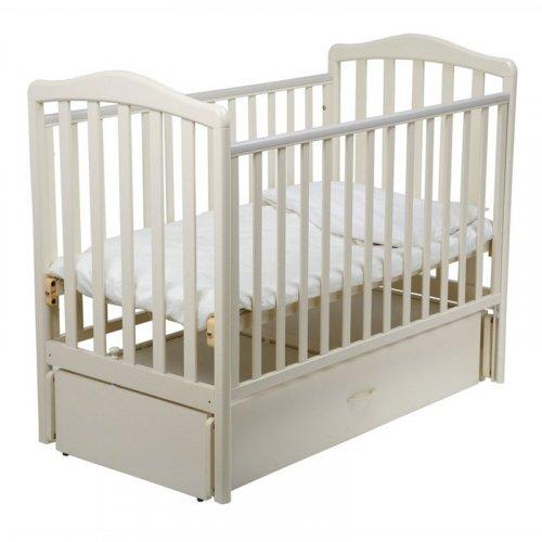Papaloni Детская кроватка Винни маятник универсальный / цвет слоновая кость